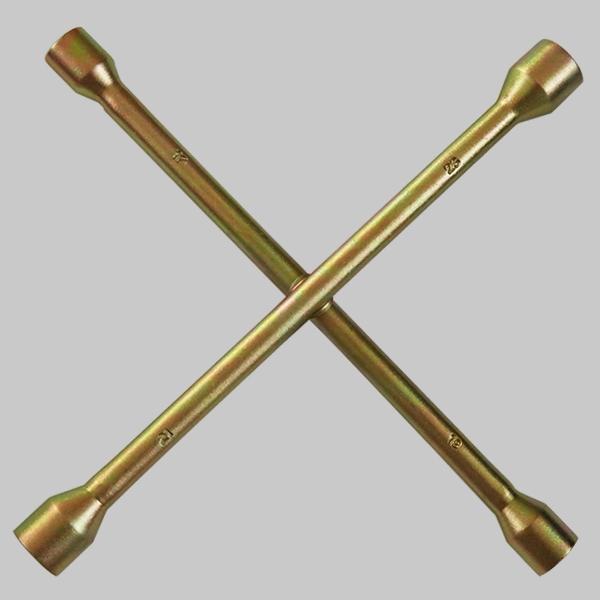 黄锌套筒十字扳手